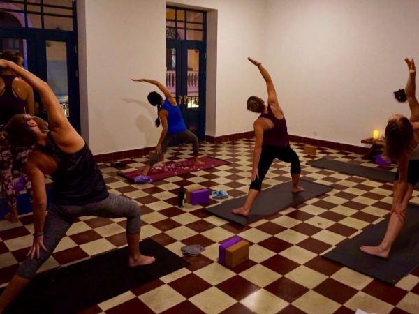 Hot Vinyasa Flow at Casco Yoga Panama, Casco Viejo every Tuesday and Friday