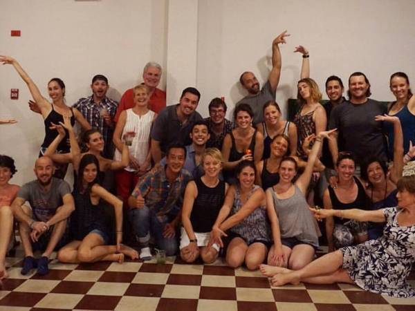 Latin Dance Class at Casco Yoga Panama, Casco Viejo, Friday night 8:30 pm. English Salsa, Bachata, Merengue class.