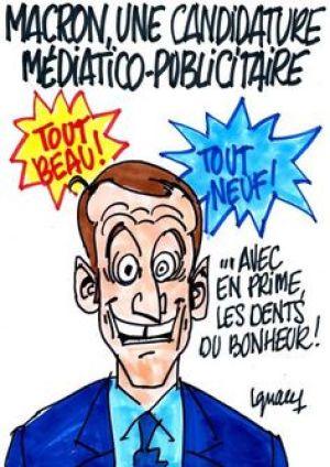 Drawing Macron by Ignace
