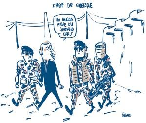Drawing Macron by Lara