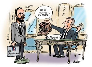 Drawing Macron by Placide