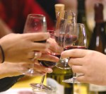 A toast between friends