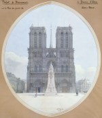 Plan for Monument to Joan of Arc