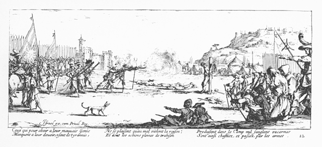 Plate 12, The Firing Squad