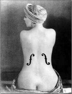 Violon d'Ingres by Man Ray