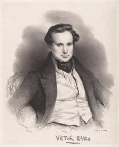 Victor Hugo by Achille Devéria