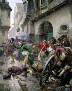 Battle in Vendee