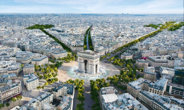 Green Champs-Élysées