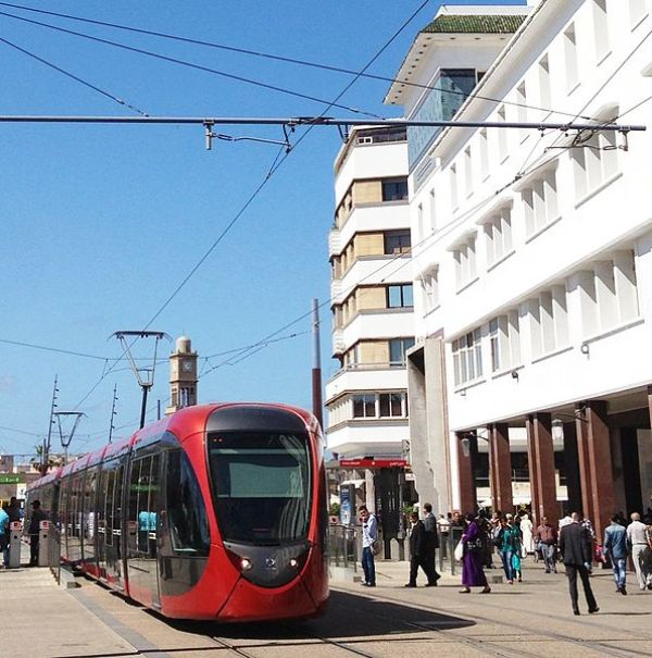 New Tramway in Casablanca