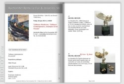 Auction Catalog Pages