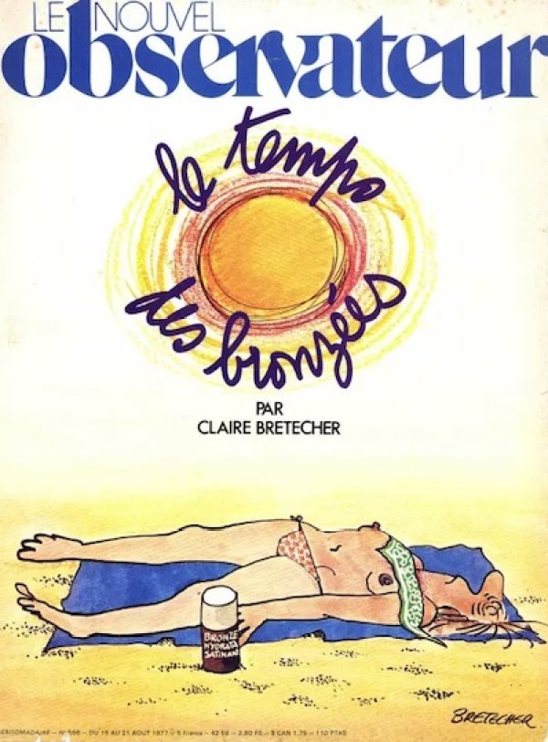 Cover of Le Nouvel Observateur