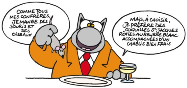 Le Chat's Preferred Menu