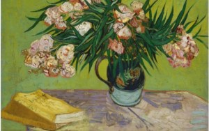 Oleanders and Books, Van Gogh