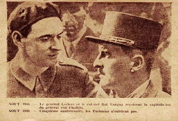 Colonel Rol and Major General Leclerc