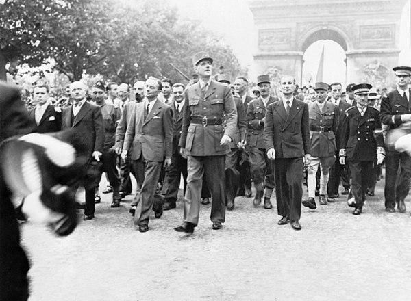 De Gaulle's Parade