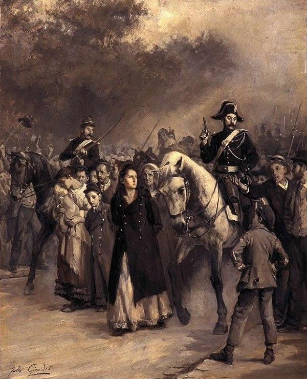 The Arrest of Louise Michel