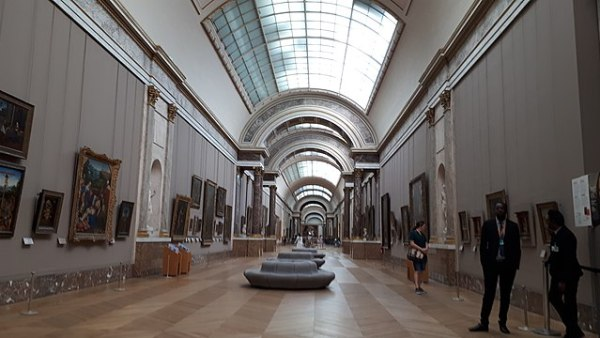 Louvre, Main Hall
