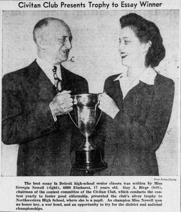 Detroit Free Press, May 1943