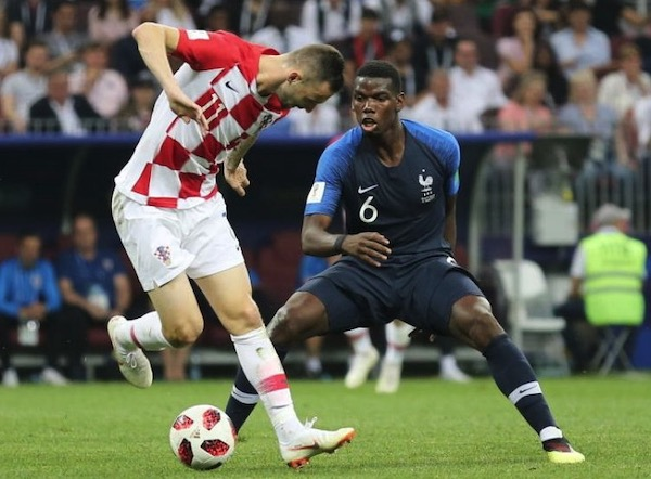 Croatia v France, World Cup 2018