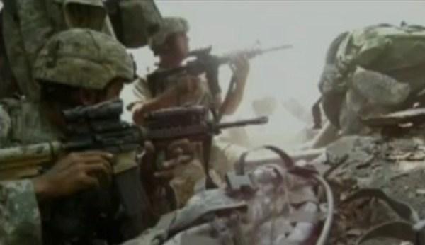 Gun Battle in the Korengal