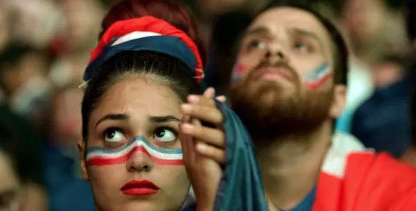 Unhappy French Fan