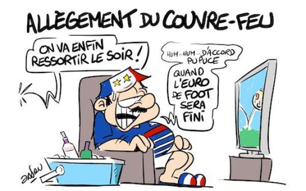 Euro 2020 Cartoon