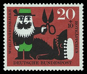 LRRH German stamp
