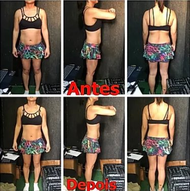 seu corpo uma maquina em 40 dias antes e depois treinamento