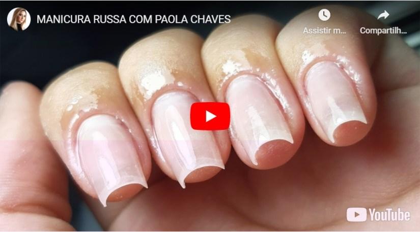 Curso Cutilagem Russa Paola Chaves