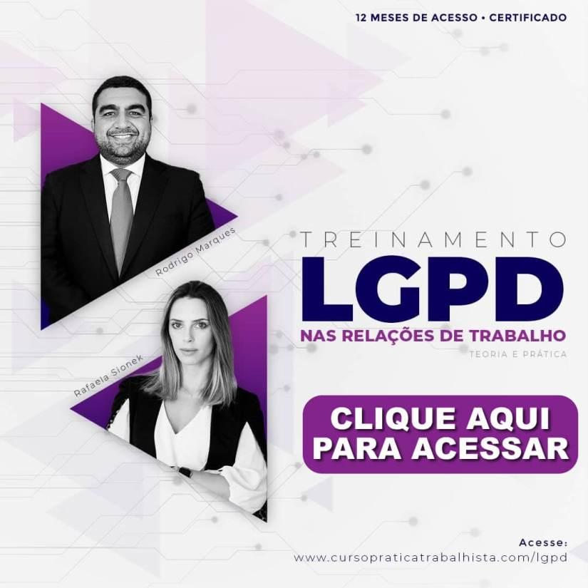 Treinamento LGPD Relações de Trabalho