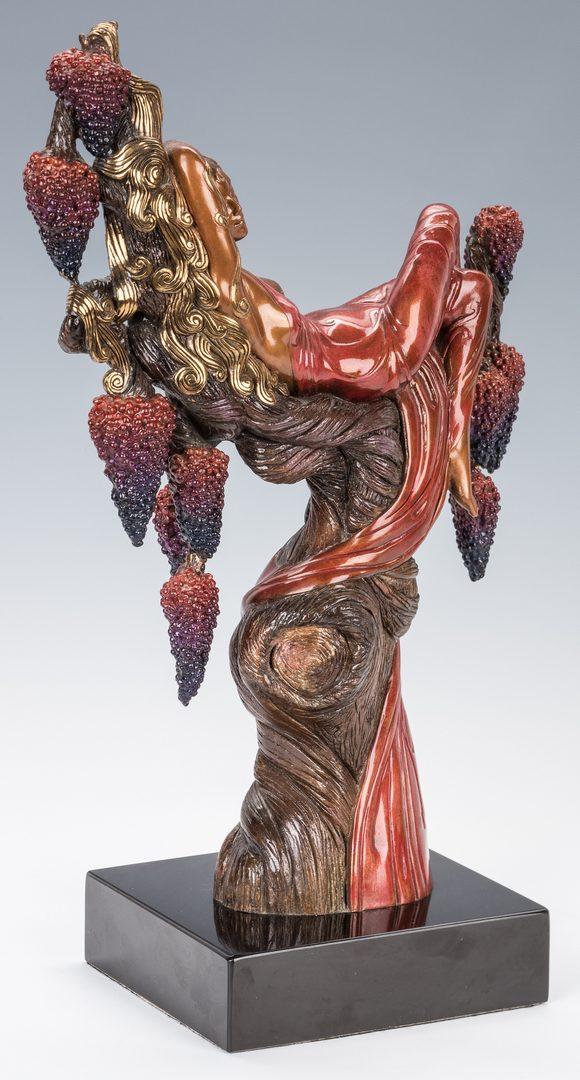 Lot 473 Erte Bronze Sculpture Heat
