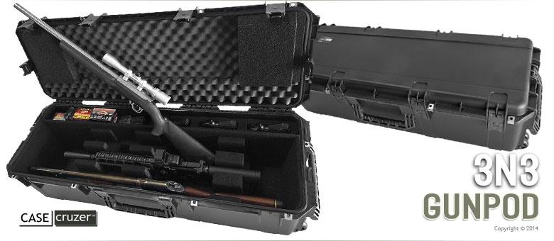 Gun And Handgun 3N3 GunPOD Case CaseCruzer