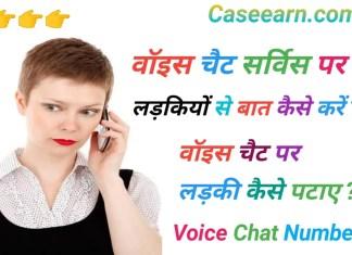 वॉइस चैट सर्विस क्या है ? वॉइस चैट सर्विस के बारे में जानकारी । voice chat service in India