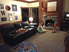 Brian's Living Area