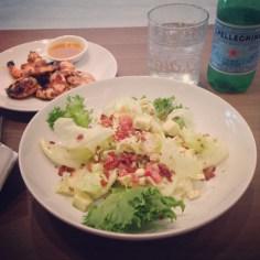 Cobb salad, Grilled Shrimp