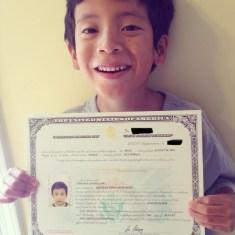 Javi's a US Citizen!