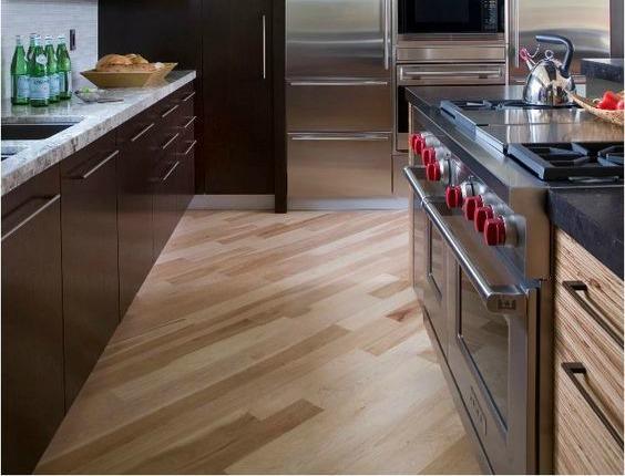 diaginal hardwood floor pattern halifax kitchen