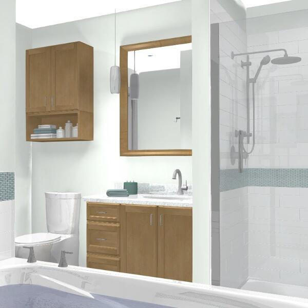 rendering drawings bathroom remodel case design halifax