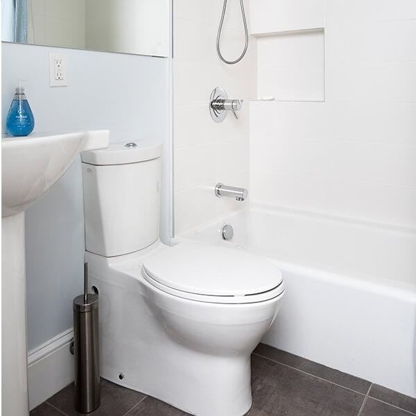 Bright New Addition Bathroom