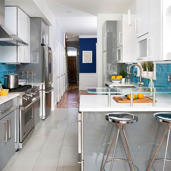 Bright New Addition Kitchen