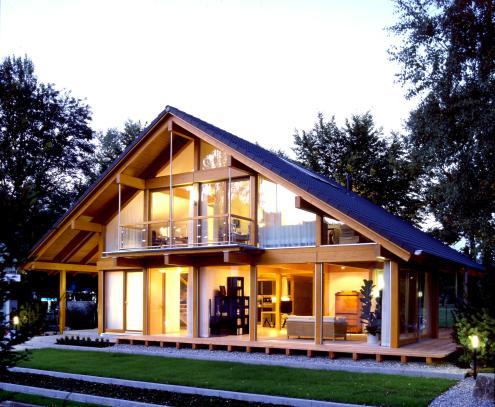 Casa in legno ad alte prestazioni energetiche. In Germania - http://www.german-homes.ie/about/platz-4/