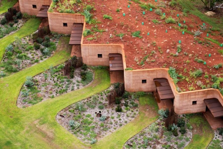 Case in terra battuta