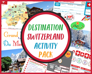 Destination Switzerland Activity Pack CASE OF ADVENTURE