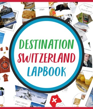 Destination Switzerland Lapbook CASE OF ADVENTURE