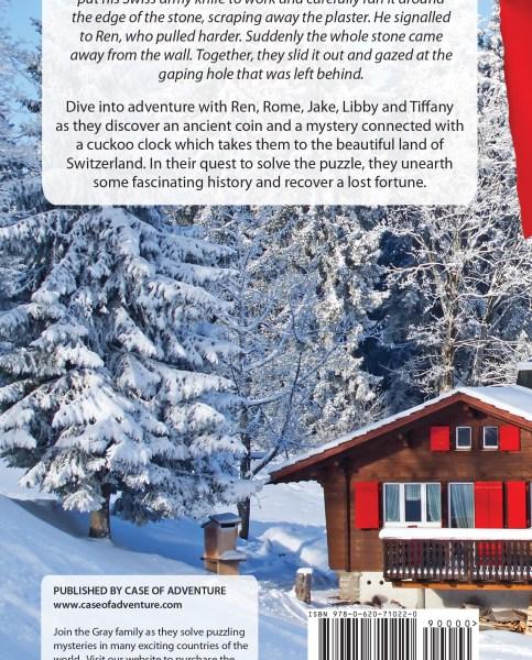 Cuckoo Clock Secrets in Switzerland Back Cover