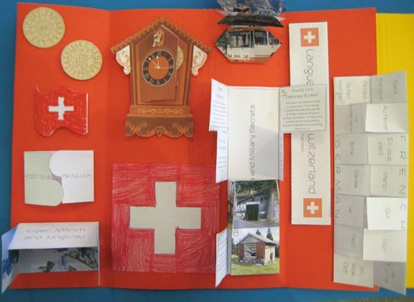 DESTINATION SWITZERLAND LAPTBOOK - CASE OF ADVENTURE