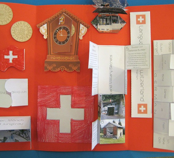 DESTINATION SWITZERLAND LAPTBOOK - CASE OF ADVENTURE