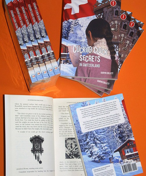 Cuckoo Clock Secrets in Switzerland Novel