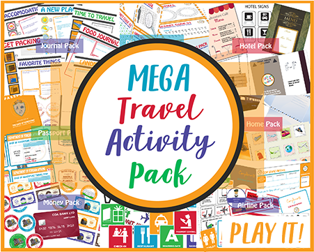 MEGA Travel Activity Pack CASE OF ADVENTURE