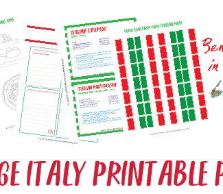 Italy Printable Pack - Case of Adventure